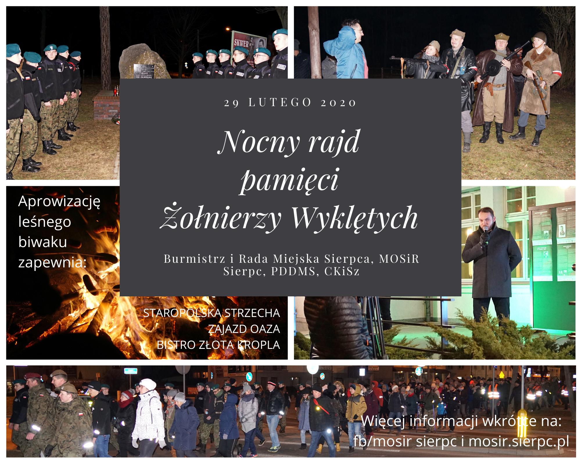 Pieszy Nocny Rajd pamięci Żołnierzy Wyklętych(1)